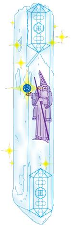 Magos de la Tierra. Mago Merlin