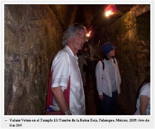 VV en el Templo 13-Palenque