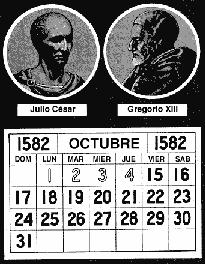 F Calendarios Juliano-gregoriano